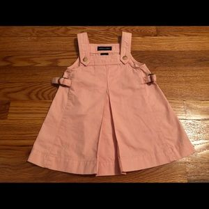 RalphLauren Overall Dress sz 12 mos